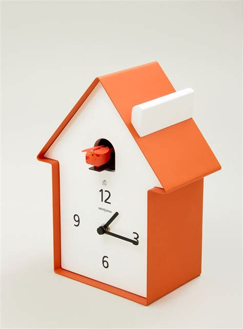 modern cuckoo clock modern cuckoo clock tangerine pinterest