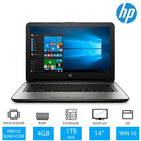Hp Tablet Ram 4gb hp 14 an060sa 14 inch best budget laptop amd e2 7110 4gb ram 1tb hdd ebay