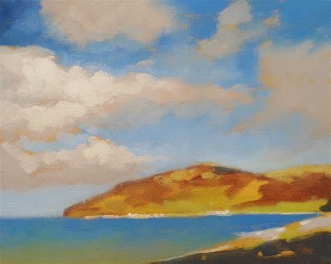 acrylic painting sky cloudy sky acrylic painting lesson by will kemp on