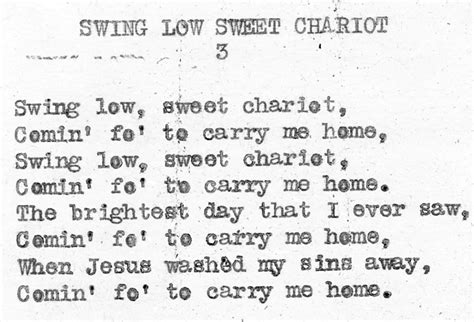 history of swing low sweet chariot sports bar trinity bar venue