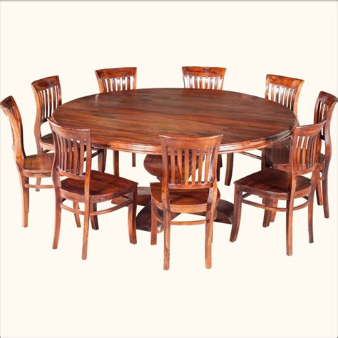large square dining room table modern designer solid wood rustic solid wood large round dining table chair set