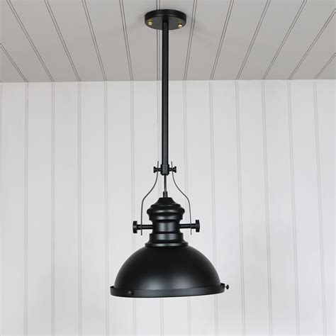 Black Industrial Pendant Light Industrial Black Ceiling Pendant Light Fitting Melody Maison 174
