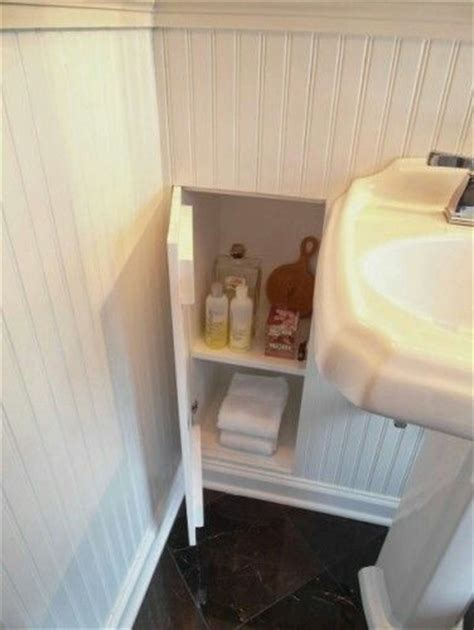 hidden in bathroom hidden cabinet in the wall hidden storage pinterest