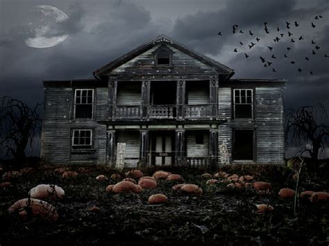 dark house mysterious dark house halloween wallpaper wallpaperlepi