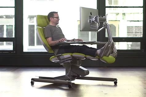 reclining office chair with monitor this 5 900 workstation lets you post process your photos