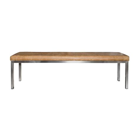 steel frame bench 25 best ideas about stainless steel benches on pinterest