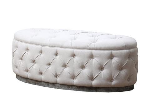 large oval ottoman white leather bench canada 100 black leather dining bench