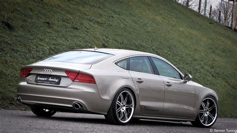 audi u7 senner tunes out the audi a7 sportback 3 0 tdi