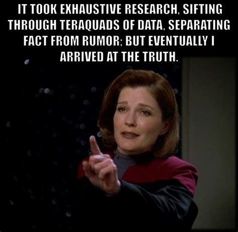 Star Trek Voyager Meme - pin by iam neferast on star trek captain janeway quotes as