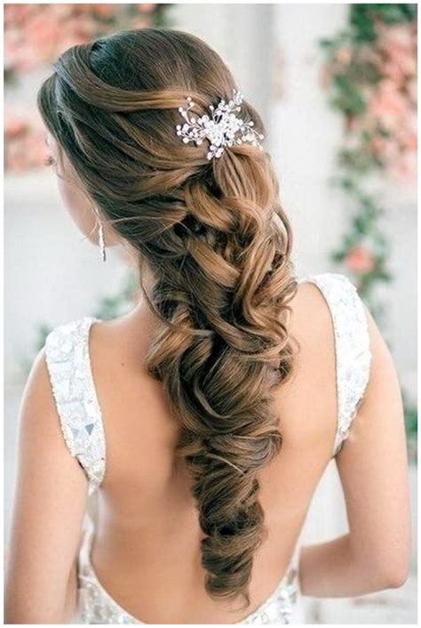 half up half down hairstyles for really long hair wedding hairstyles for long hair half up half down