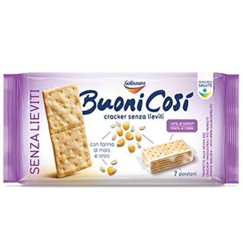 alimenti privi di lievito buoni cos 236 cracker senza lieviti galbusera