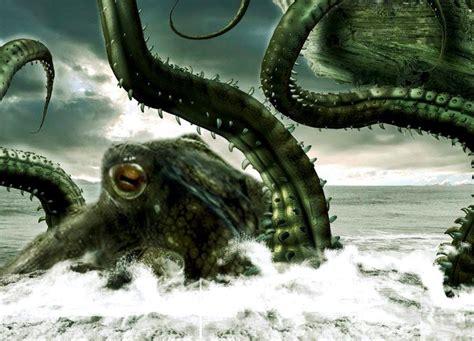 calamares gigantes del mito y la leyenda a la realidad monstruos marinos el kraken 191 mito