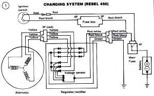honda cb400 and cb450 wiring diagram and schematics