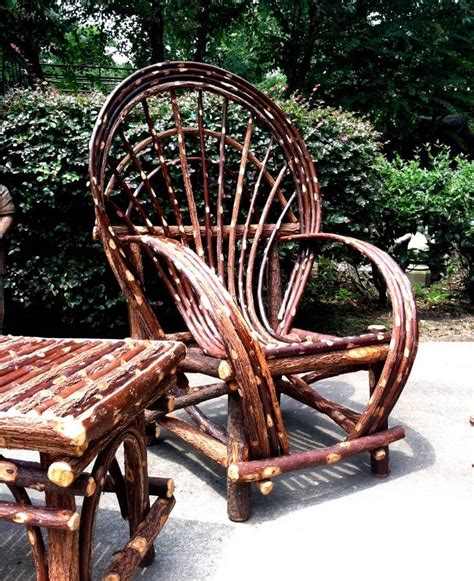 Log Cabin Patio Furniture by Rustic Twig Willow Chair Log Cabin Furniture Patio Indoor