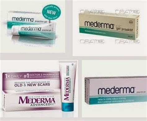 manfaat mederma gel proaktif
