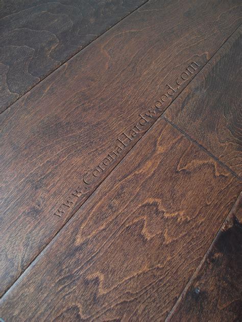 Distressed Hardwood Flooring Greenbay Collection Distressed 5 Espresso Maple Emd Ep