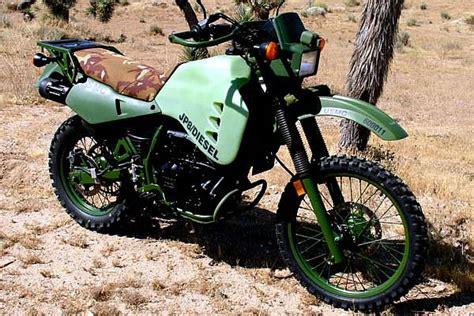 Kawasaki Dieselmotorrad by Military Photos M1030m1 Jp8 Diesel Military Motorcycle