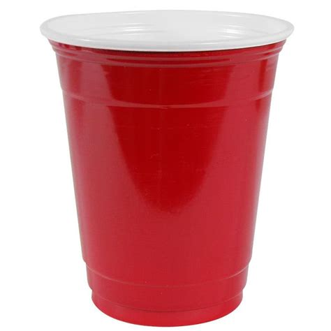 Buy Coffee Cups by Dart Solo P16rlr 00011 Red 16 Oz Plastic Cup 1000 Case