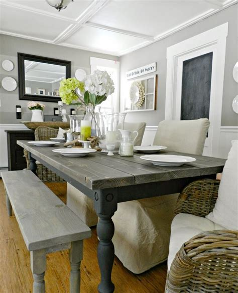 Farmhouse Dining Rooms by 34 Farmhouse Dining Rooms And Zones To Get Inspired Digsdigs