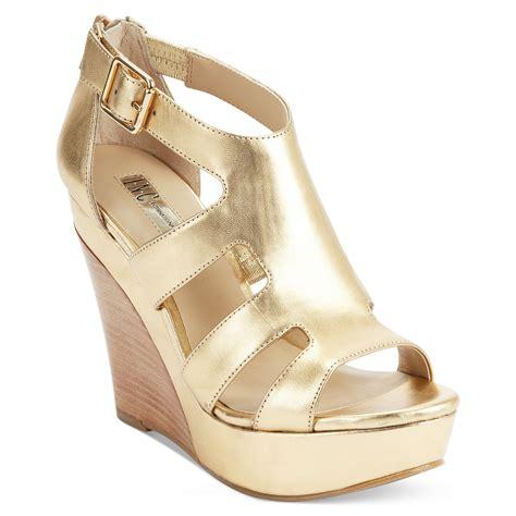 gold platform sandals inc international concepts platform wedge