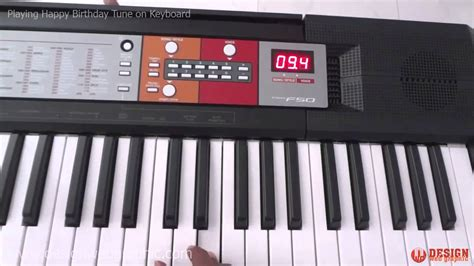 Yamaha Keyboard Tunggal Psr F50 happy birthday tune on keyboard happy birthday song on piano yamaha psr f50