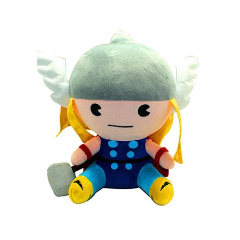 Marvel Comic Thor Plush Doll marvel kawaii 8 thor plush toyworld