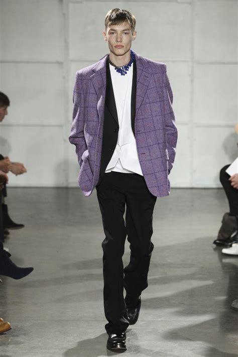 raf simons fall 2017 menswear img models