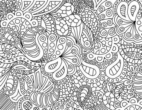 Printable Coloring Pages Zentangle | free coloring pages of zentangle animals