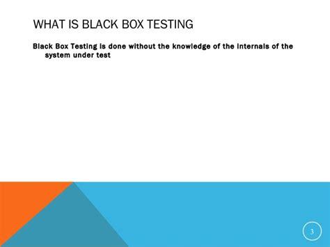 black box testing 04 black box testing