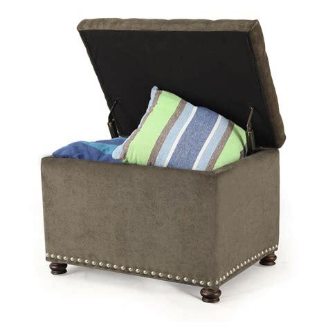 Joveco Stylish Fabric Rectangular Storage Ottoman Jft33 Fabric Storage Ottomans