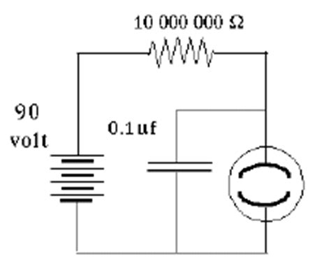 capacitor in parallel with bulb capacitance and stored electric energy