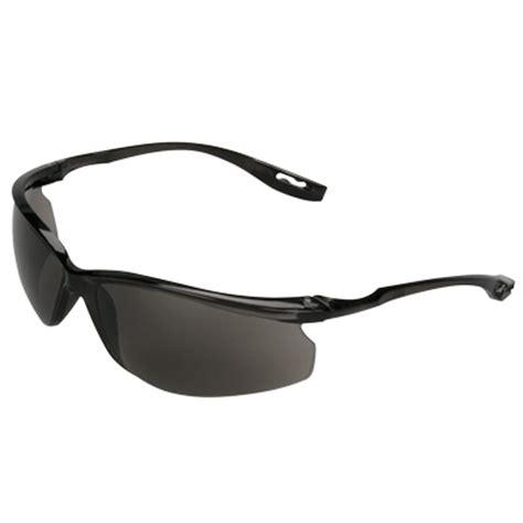 3m virtua sport ccs safety glasses clear blue frame grey