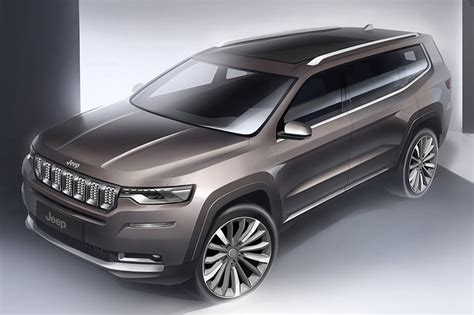 Jeep Commander Truck 2020 by 2018 Jeep Grand Commander Revealed For China Automobile