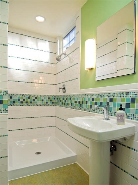 hgtv bathroom tile bathroom tiles for every budget and design style hgtv