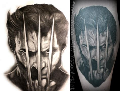 3d tattoo wolverine wolverine in tattoo pictures to pin on pinterest