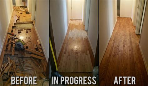 Before and after galleries   Hardwood Floor Refinishing