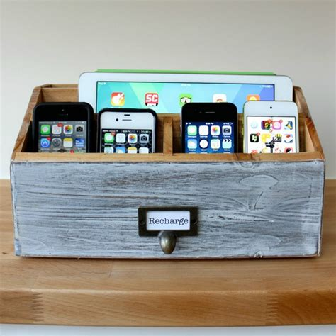 hanging charging station 15 awesome diy projects to cut clutter in your home