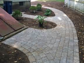 Ideas For Brick Sidewalk Design Brick Paver Walkway Designs