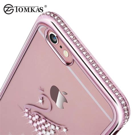 Iphone 6s Plus Luxury Glam Glitter Silikon Soft Cover Casing iphone covers reviews shopping iphone