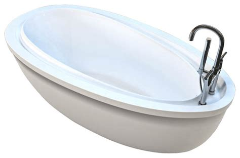 freestanding bathtubs with air jets atlantis tubs 3871bba breeze 38x71x24 inch freestanding