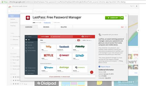 chrome store vpn fake lastpass chrome extension found on the google web store