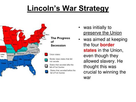 the civil war section 1 quiz ppt civil war plans and early battles chapter 11 section