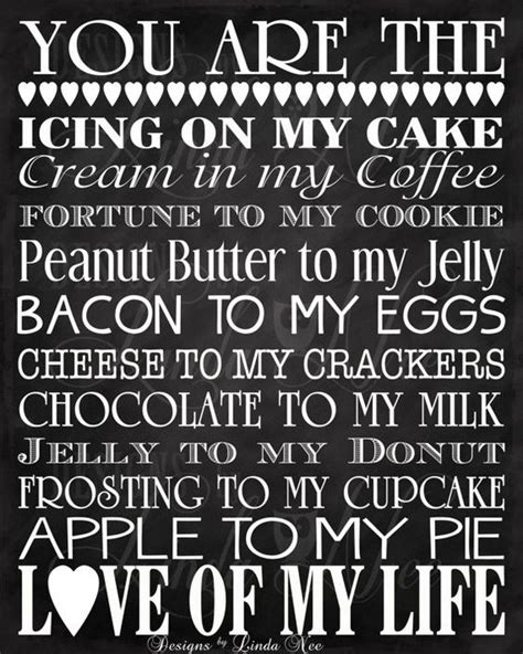 printable husband quotes printable you are the bacon to my eggs you are the
