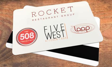Rocket Gift Card - gift cards the loop minneapolis