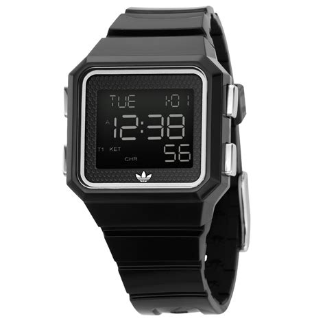 unisex black digital adh4003 163 45 00 from