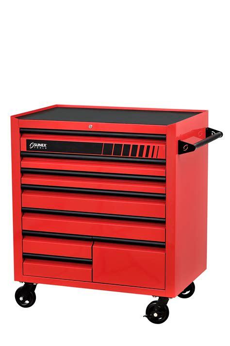 8 drawer service cart