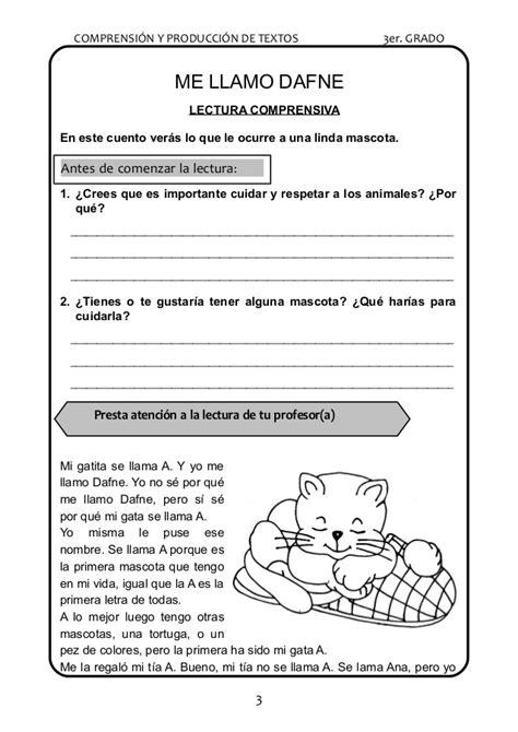 lectora para primer a tercer grado de primaria material educativo lecturas para el tercer grado de primaria