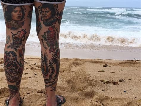 leg sleeve tattoo girl 27 leg sleeve designs ideas design trends