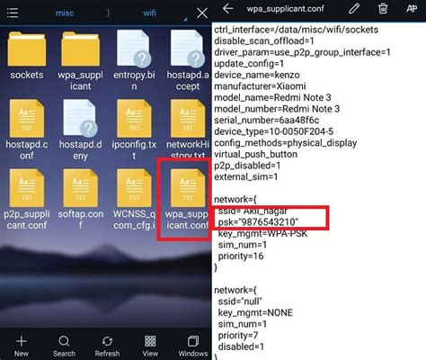 how to show wifi password on android how to show wifi password android phone without root
