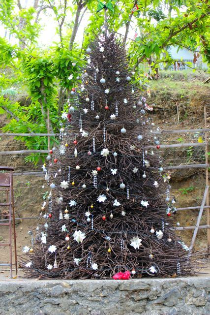 christmas tree in tagalog market manila a wrought tree general